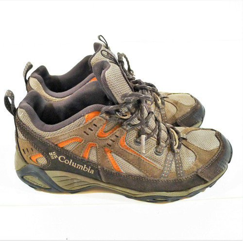 Columbia Men's Mud/Cedar Firelane Low Hiking Shoes Size 8.5 - **CUT INSOLES