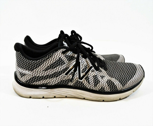 New Balance Women's Black & White Cush+ Cross Training Shoes Size 10