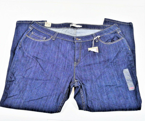 Levi's Women's Blue Silver Tag Mid Rise Skinny Size 24 W - NEW WITH TAGS