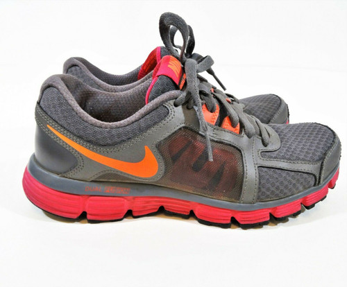 Nike Dual Fusion ST2 Women's Gray Pink Athletic Shoes Size 7.5 - 454240-066