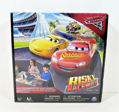 Disney Pixar Cars Risky Raceway Game - NEW SEALED