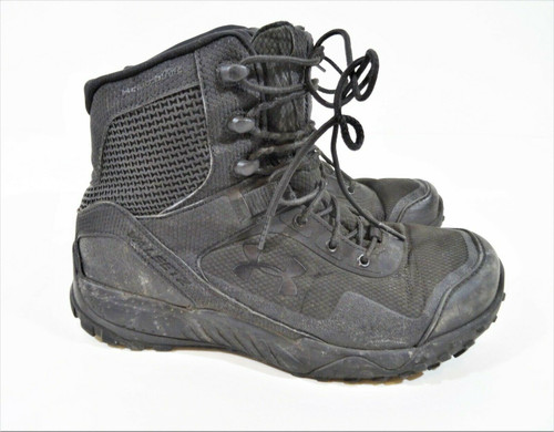 Under Amour Women's Black Valsetz RTS Tactical Boots Size 7.5 - 3021037-001