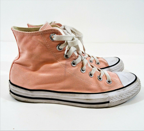 Converse Unisex All Star Pink High Tops Shoes - Men's Size 6.5 -162113F