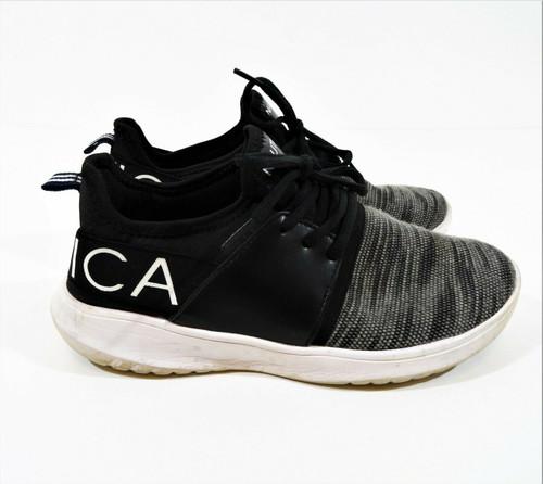 Nautica Women Kappil Gray Lace-Up Jogger Casual Walking Sneaker Size 6.5