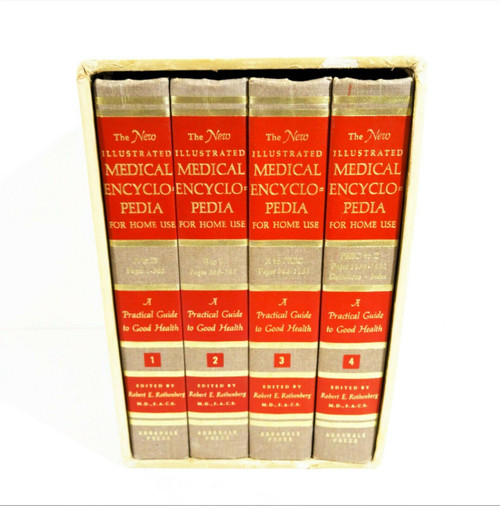 The New Illustrated Medical Encyclopedia for Home Use 1967 - 4 Vol & Slipcase