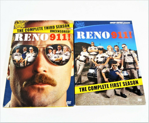 Reno 911 Complete First & Third Seasons DVD's