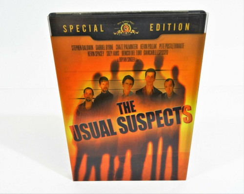 The Usual Suspects (DVD, 2009, Repackaged)