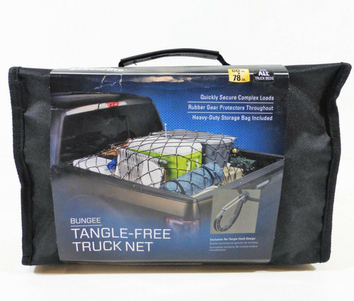 "Draw-Tite Bungee Tangle-Free Truck Net 60"" x 78"" 94241DT   NEW"