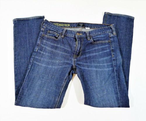 J. Crew Women's Blue Denim Matchstick Jeans Size 30S