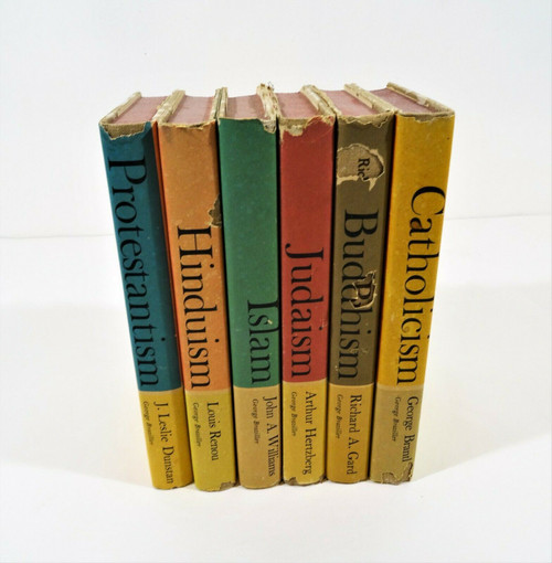 Vintage Great Religions of Modern Man 6 Volume Set 1962