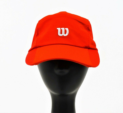 Wilson Red Woven Cap - U Rush Stretch - Size OSFA - NWT