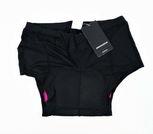 Arsuxeo Women's Black Padded Gel Cycling Underwear Briefs Size M- NEW WITH TAGS