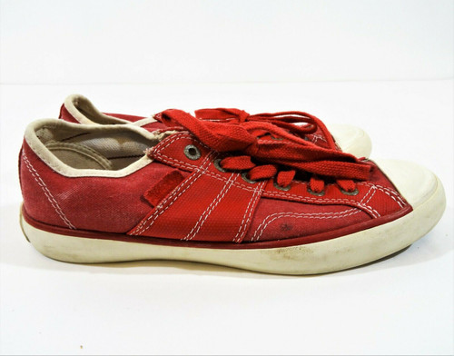 Converse All Star Women's Red Canvas Sneakers Size 6.5