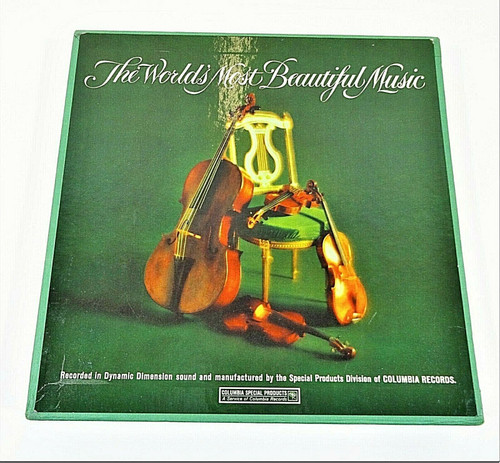 The Worlds Most Beautiful Music Columbia - Vintage Box Set - LP Vinyl 12 Records