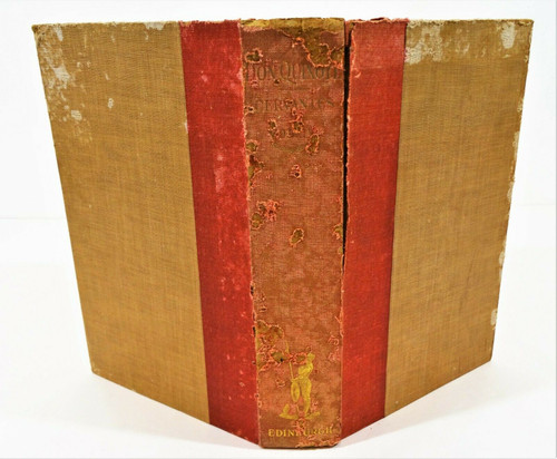 Vintage Don Quixote - The History of an Ingenious Gentleman - Hardcover 1906