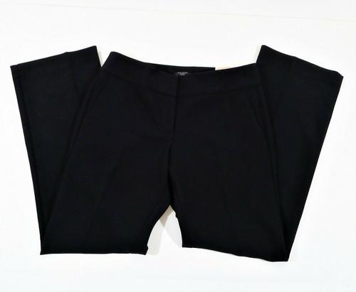 Ann Taylor Women's Black The Trouser In Signature Pants Size 4 Petite - NEW