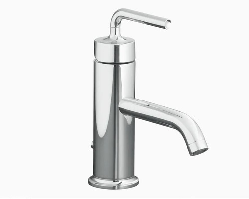 Kohler Purist Single Control Lavatory Faucet in Polished Chrome K-14402-4A-CP