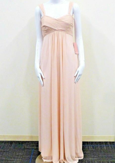 Birdy Grey Women's Maria Pale Blush Empire Waist Bridesmaid Dress Size Small