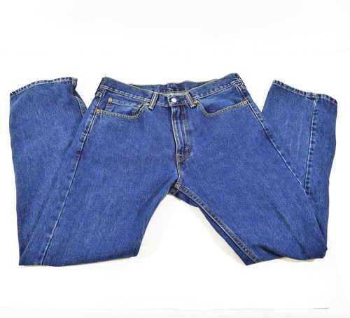 Levi's Men's Blue 505 Denim Jeans Size 34 x 32
