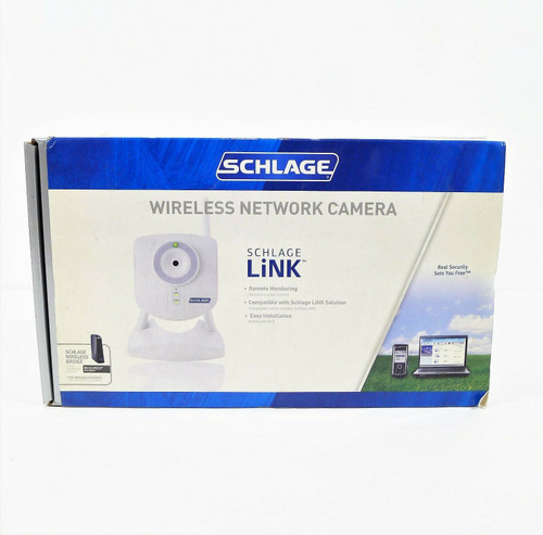 Schlage LiNK White Wireless Network Camera Model WCW100 - OPEN BOX