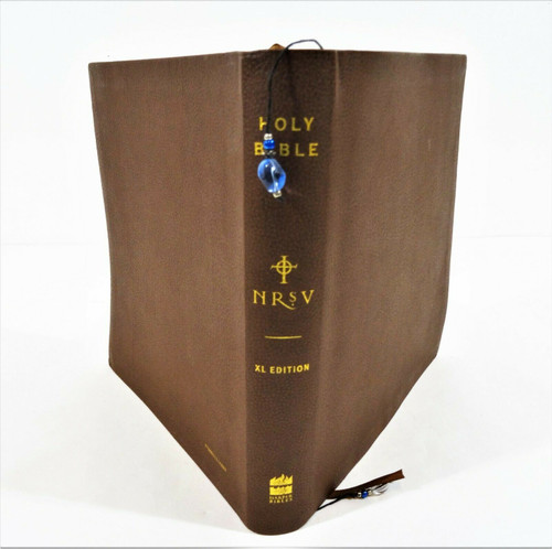NRSV The Bible For Everyone Bonded Brown Pebble Leather - Zondervan Softcover