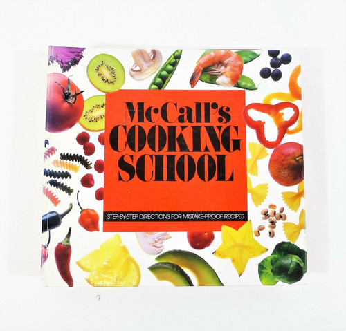 McCall's Cooking School Cooking 3 Ring Binder Hardback Book COMPLETE/INCOMPLETE?