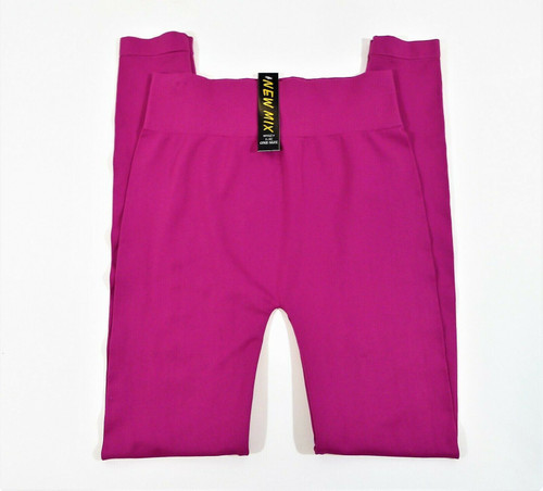 New Mix Women's Hot Pink Leggings Style L-32 Size One Size