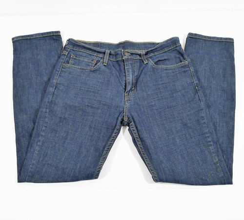 Levi's Strauss Men's Blue Original Slim Fit Jeans Size 33 x 32