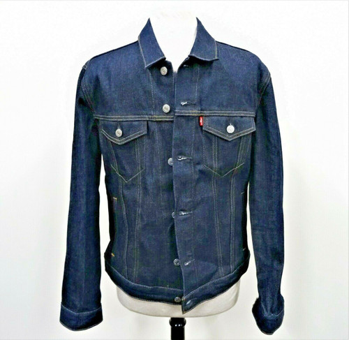 Levi's Men's Classic Blue Denim Jacket Size Medium