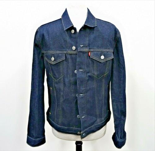 Levi's Men's Classic Blue Denim Jacket Size Medium