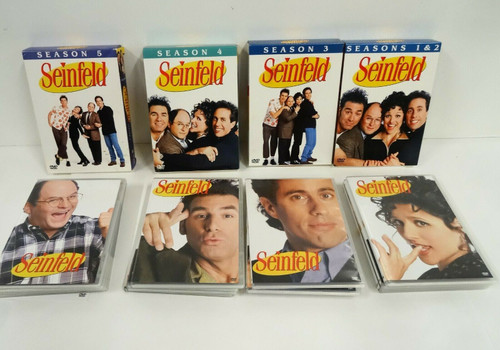 Seinfeld DVD Collection Seasons 1-5  Boxed Sets 16 Discs