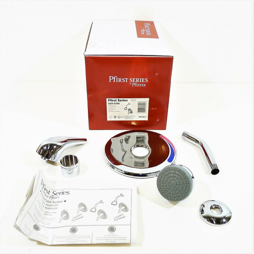 Pfister Pfirst Series Shower Only Trim Kit in Polished Chrome G89-0200