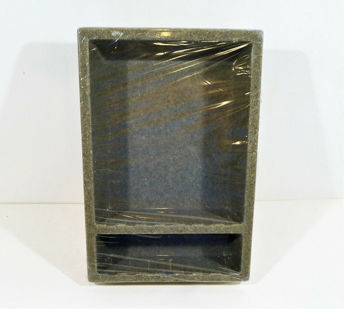 The Onxy Collection Keystone Gloss Smooth Liberty Wide Recessed Caddy OPEN BOX