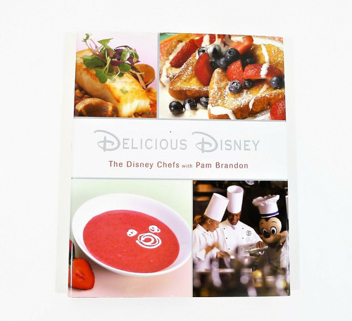 Delicious Disney Cookbook Hardcover Book By Pam Brandon
