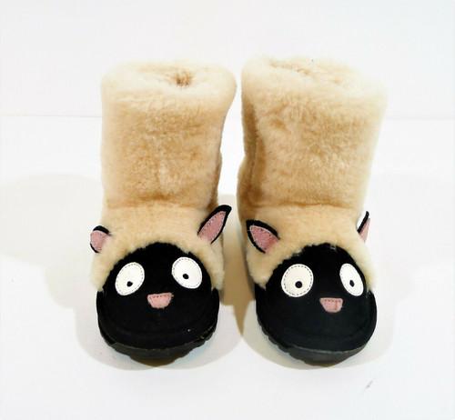 Emu Australia Kid's Lamb Wool Upper Boots Size 8