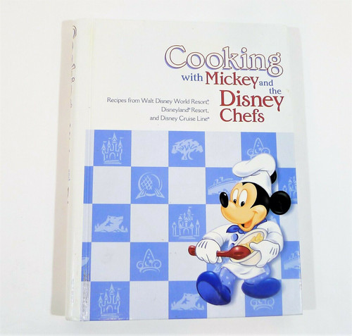 Cooking with Mickey and the Disney Chefs Cookbook Hardback Ring Binder Book