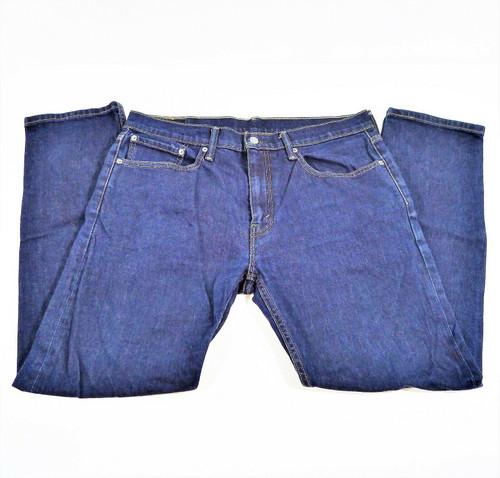 Levi's Men's Blue 502 Denim Straight Leg Jeans Size 34 x 32