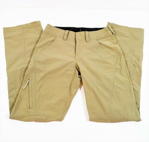 The North Face Women's Khaki Nylon Lightweight Pants Size 2