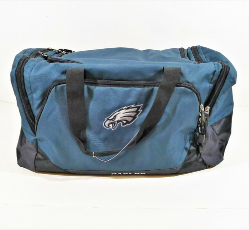 NFL Philadelphia Eagles Large Duffle Bag with Carrying Strap
