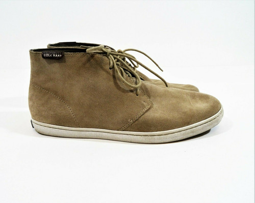 Cole Haan Men's Tan Suede Chukka Boots Size 8
