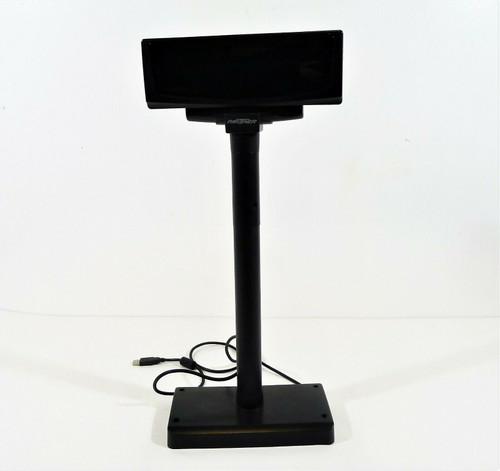 Partner Black Adjustable Customer Display Pole Model CD-7220-UN SV - SEE DESCR.