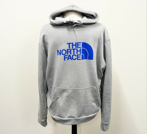 The North Face Men's Grey Sweat Shirt Hoodie Pullover Size Extra Large