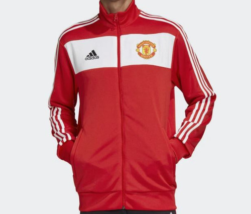 Adidas Men's Manchester United 3-stripes Track Jacket Size XS - NEW IN PACKAGE