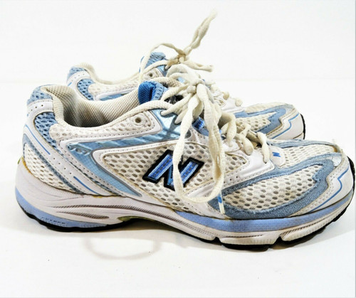 New Balance Women's Athletic Running Shoes Blue & White Size 6.5