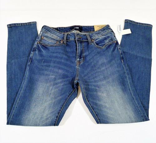 Aéropostale Men's Blue Aero Super Skinny Premium Max Stretch Jeans 30 x 32 - NEW