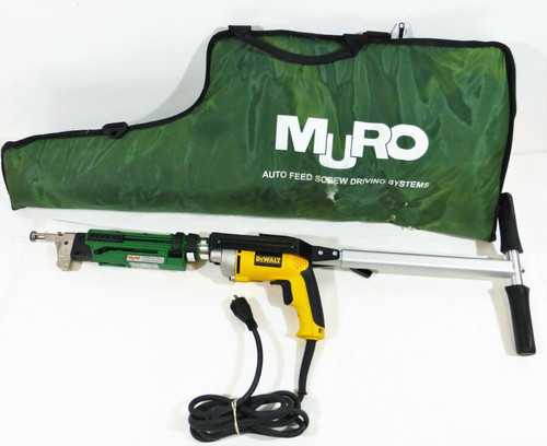 Muro CH7390 Ultra Driver Autofeed Screwdriver with Dewalt Electric Drill DW276