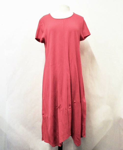 Chico's Women's Pink Knit Shoshoni Midi Shift Dress Plus Size 3  *New With Tags*