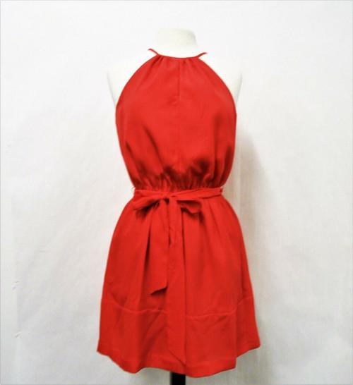 Express Pink Halter Mini Dress Size Medium New With Tags