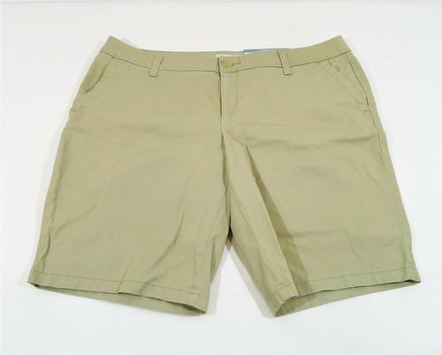 Liz Claiborne Khaki Classic Bermuda Short Size 14 - NEW