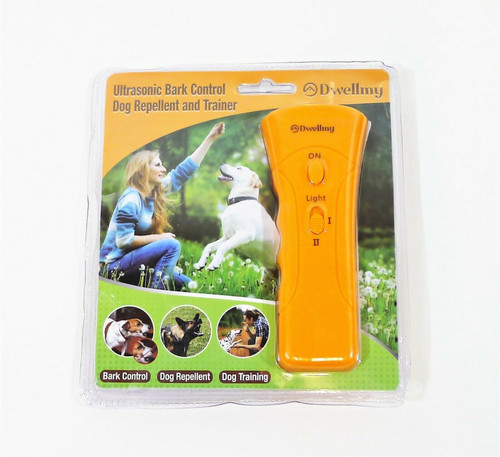 Dwellmy Ultrasonic Bark Control Dog Repellent and Trainer - NEW SEALED